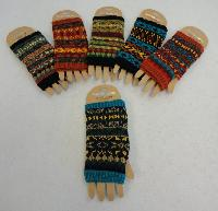 Knitted Hand Warmer [Aztec Print]